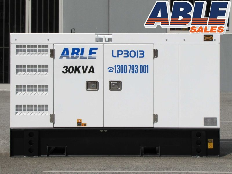 30 Kva 415v Diesel Generator Forward Formerly Isuzu