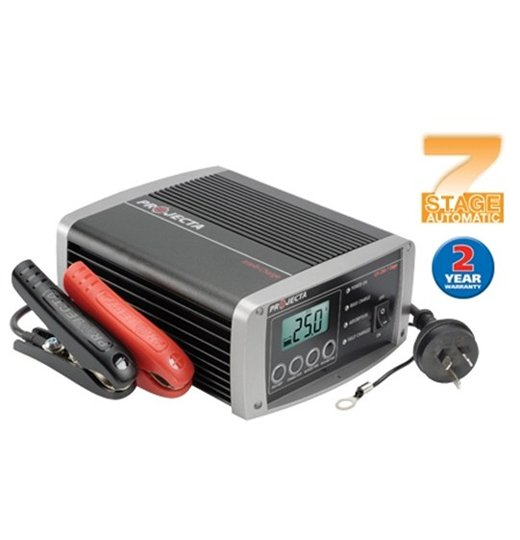 Projector 12V 25A 7 Stage Battery Charger IC2500 Contact