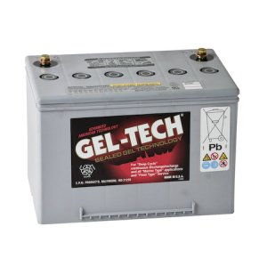 GEL-TECH Batteries Electric Motive 8G34R
