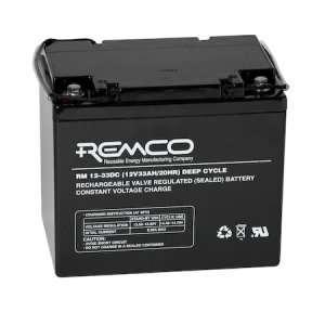 REMCO Batteries AGM Cyclic RM12-33DC