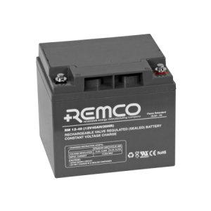 Remco Flame Retardant Agm Rm12 40fr 12volt 40ah Solar