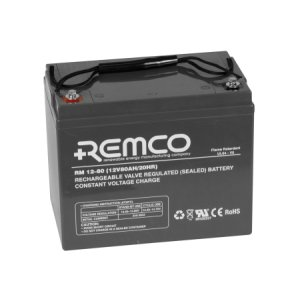 Remco Flame Retardant Agm Rm12 80fr 12 Volt 80ah Solar