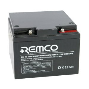 Remco Mobility Traction Agm Cyclic Rm12 26dcm 12 Volt 26ah