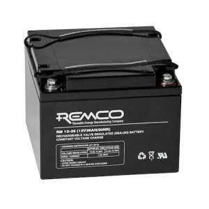 REMCO Batteries Standby AGM RM12-26