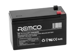 REMCO Batteries Standby AGM RM12-7.2