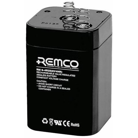 Remco Batteries 6V 4R25 Sealed lead acid battery