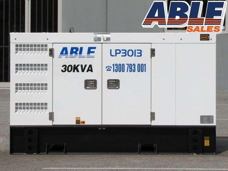 30 Kva 415v Diesel Generator Forward Formerly Isuzu Powered Water Cooled Solar