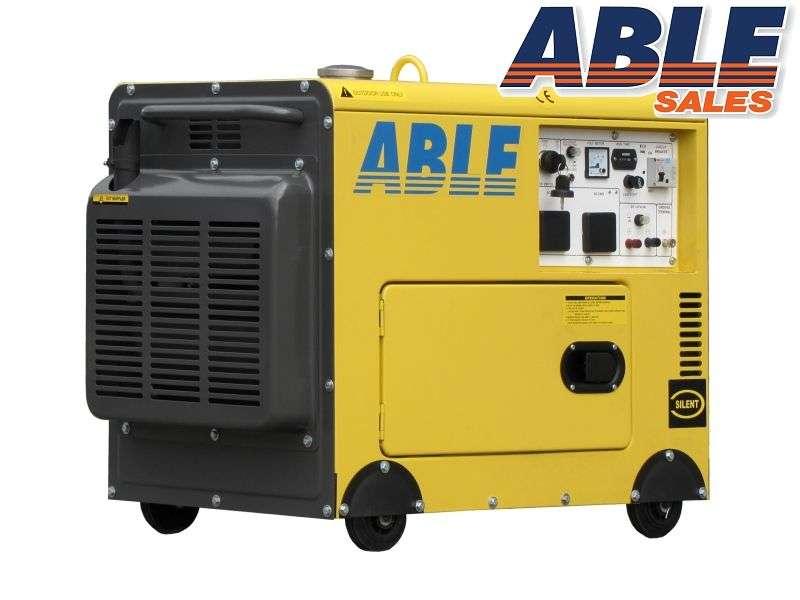 6kva Diesel Generator 240v In Canopy Single Phase Air