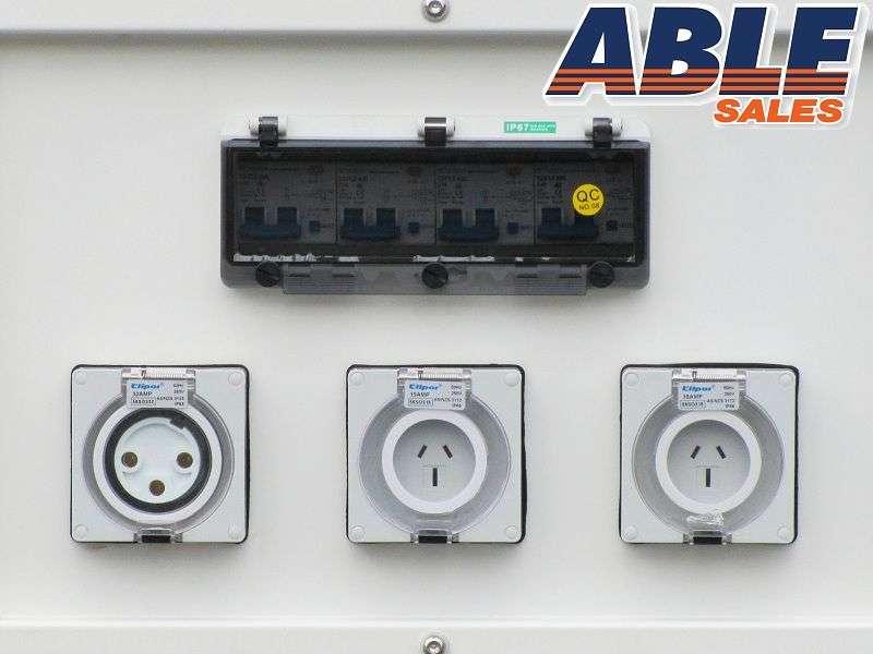 Able 8KVA back up generator 240v