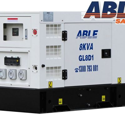 Able diesel 8KVA back up generator