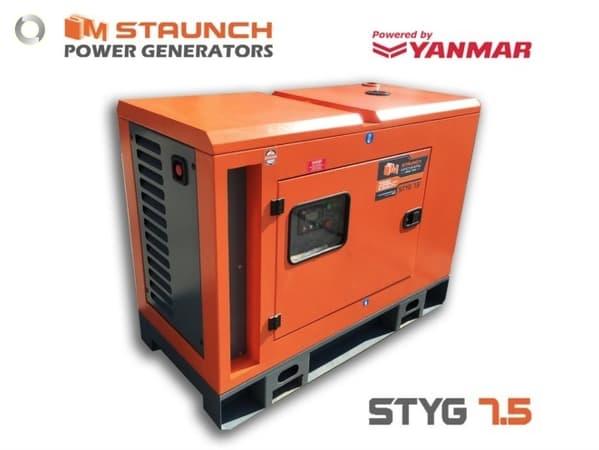 Staunch Yanmar Styg7 5 Generator Solar Batteries Online