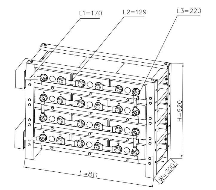 narada rexc400 - 24v racking system